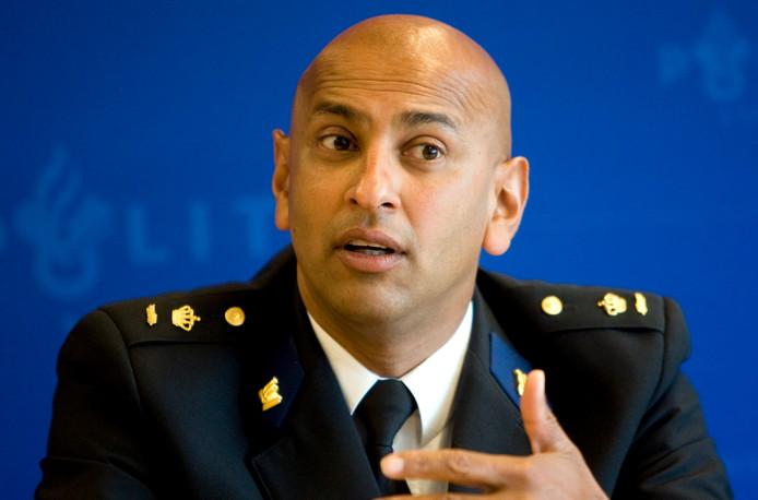 Martin Sitalsing wordt de nieuwe politiechef van de eenheid Midden-Nederland.