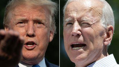 Trump werpt zich op als verdediger van de arm der wet, Biden zoekt genuanceerd standpunt
