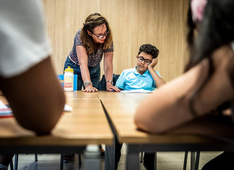 Zomerscholen repareren het gebrekkige taalonderwijs maar gedeeltelijk. Beeld Hollandse Hoogte /  ANP