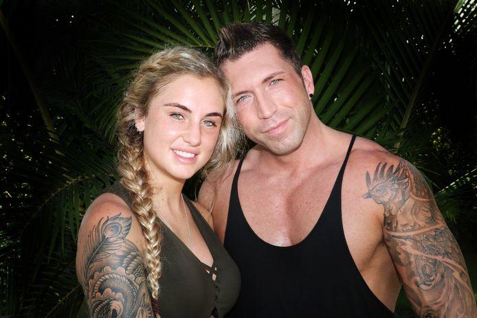 Rosanna en Niels deden enkele jaren geleden mee aan 'Temptation Island'.