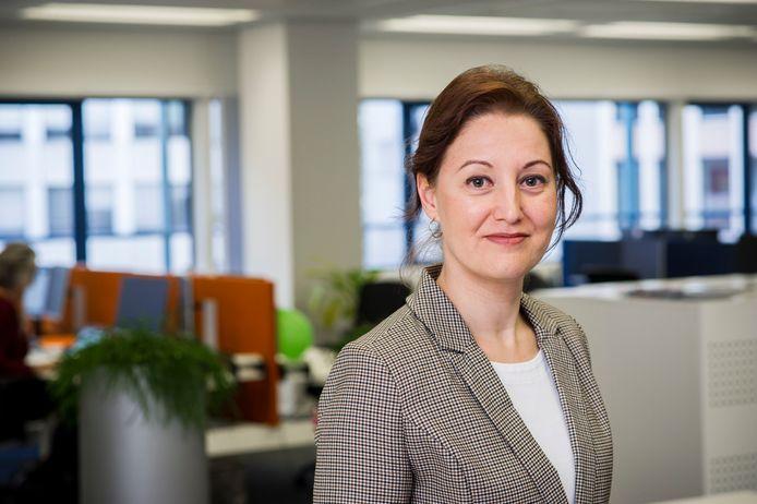 Drs. Lidia Barberio, manager bij Longkanker Nederland.