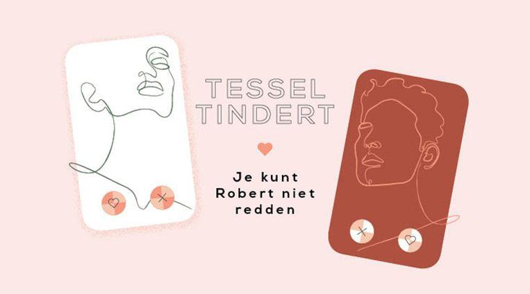 """Tessel zit bij haar therapeut: """"Je redderssyndroom speelt je weer parten"""""""