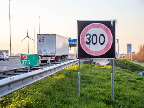 300 kilometer per uur op de A2?