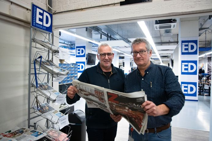 Fotograaf René Manders en verslaggever Patrick Wiercx over de A67-bijlage die het ED in januari bracht.
