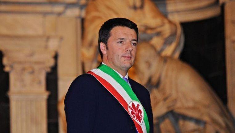 De 39-jarige Matteo Renzi is door zijn eigen Democratische Partij (PD) voorgedragen als premier van Italië. Beeld epa