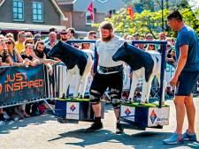 'Sterkste man' Wilnis trekt honderden toeschouwers