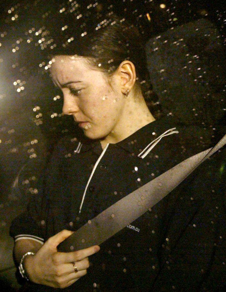 Natasha Ryan toen ze gevonden werd in 2003.