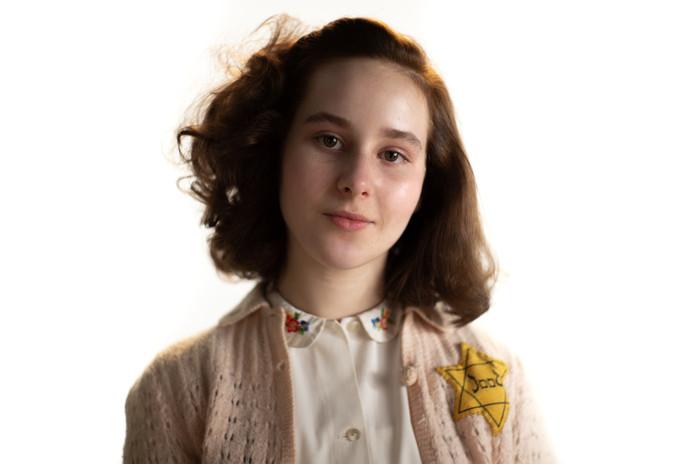 Actrice Aiko Beemsterboer speelt Anne Frank