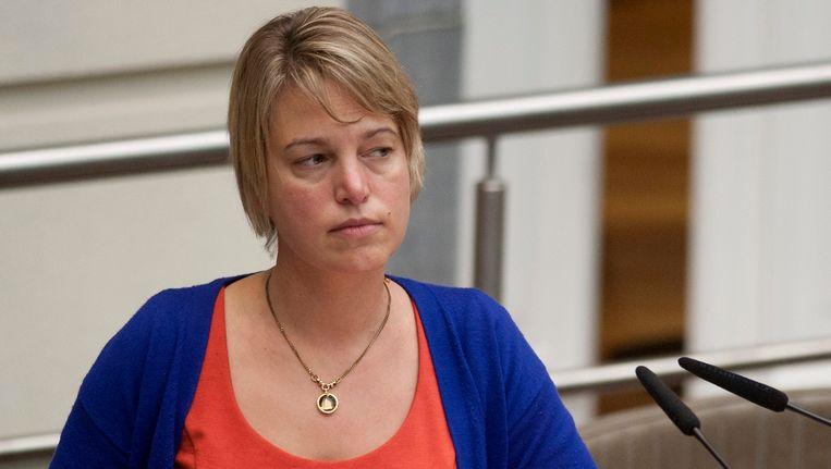 Minister van Leefmilieu Joke Schauvliege (CD&V) gaf de aftrap voor de sanering. Beeld PHOTO_NEWS