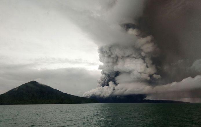De Krakatau-vulkaan