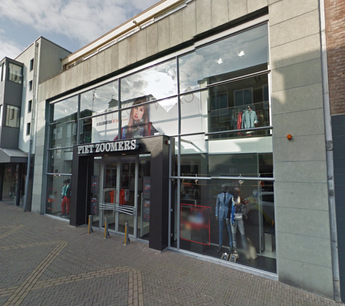 Het pand van Piet Zoomers in de Boliestraat in Doetinchem.