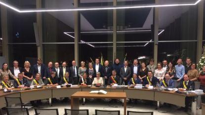 35 raadsleden van fusiestad leggen eed af