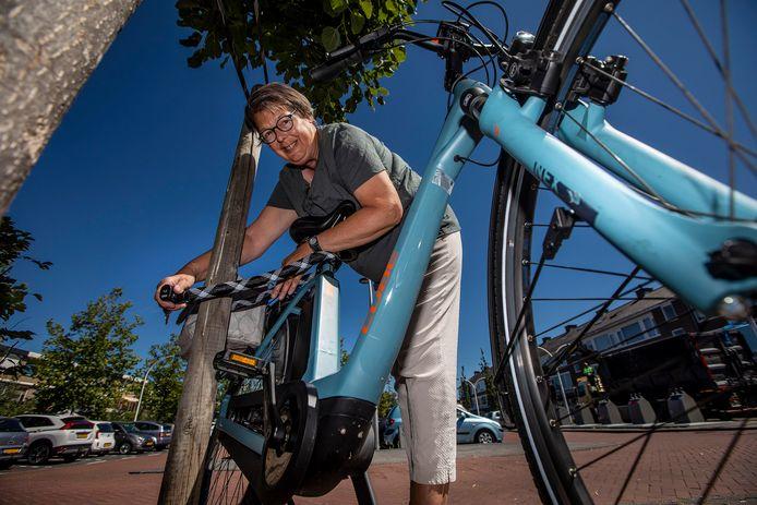 Anneke Koenen haar e-bike was gestolen
