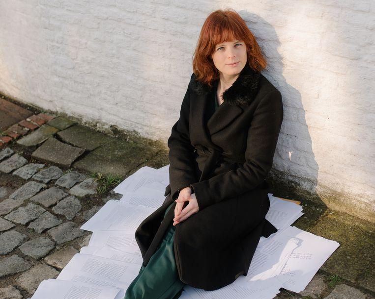 Anneleen Van Offel schreef een doordacht debuut Beeld Kevin Faingnaert