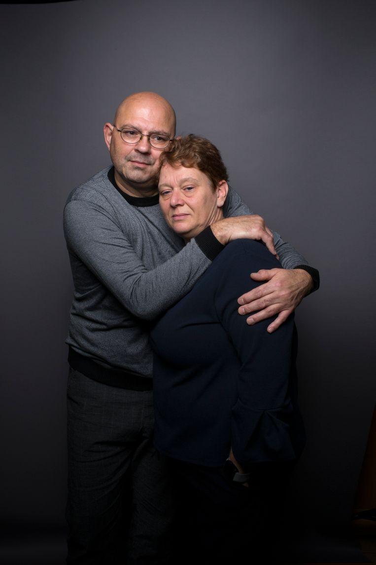 Aja en Mariët Lucassen verloren in juni hun dochter, de talentvolle judoka Ilona. Beeld Jörgen Caris