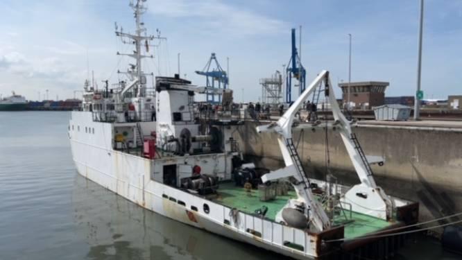 Onderzoeksschip Belgica is voortaan in Oekraïense handen