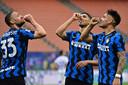 Inter won de thuiswedstrijd tegen Sampdoria met 5-1