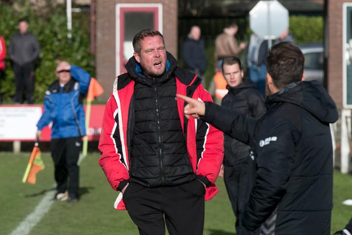 SC Rheden-trainer Peter Jansen op archiefbeeld.