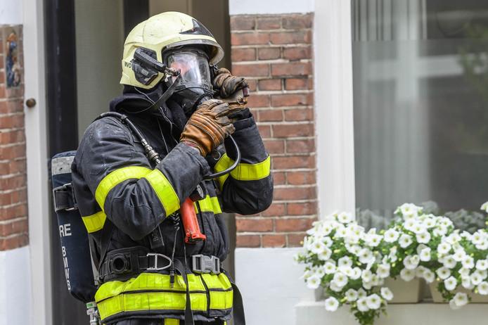 Zeer grote woningbrand Breda