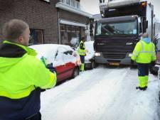 VVD Etten-Leur kritisch over afvalinzameling tijdens sneeuw: 'Waarom geen extra inzamelronde?'
