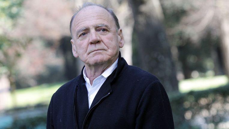 Bruno Ganz (71) speelt na Adolf Hitler in 'Der Untergang' nu ook de paus in een nieuwe tv-reeks van Showtime. Beeld GETTY