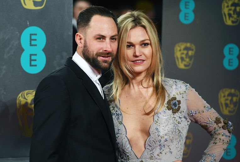 Actrice Julia Stiles en haar man Preston J. Cook.