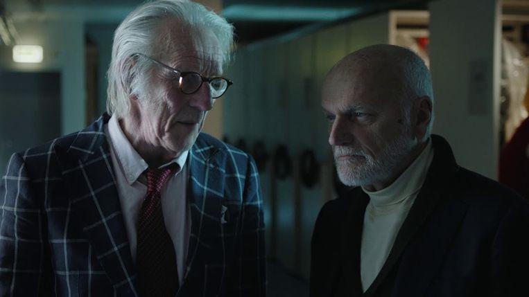 Freek de Jonge en Jacques Klöters in de documentaire 'Freek'. Beeld *