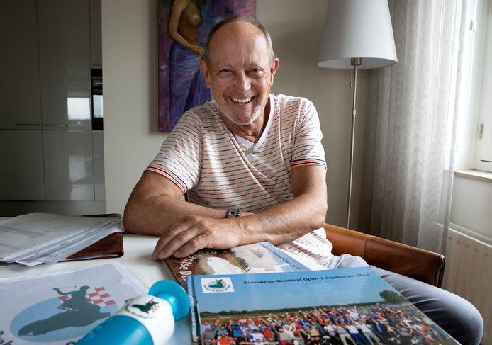 Cees van Dijk, de geestelijk vader van het aanstaande Brabantse Disabled Open, een  golftoernooi voor mensen met een beperking dat wordt gehouden op Golfbaan De Stippelberg in Bakel.
