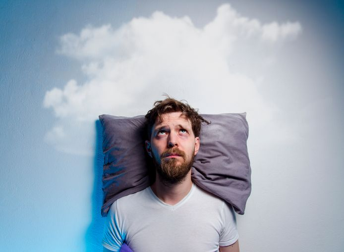 Slapeloosheid kan veel gezondheidsproblemen veroorzaken.