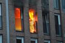 Brand verwoest woning in appartementencomplex Breda