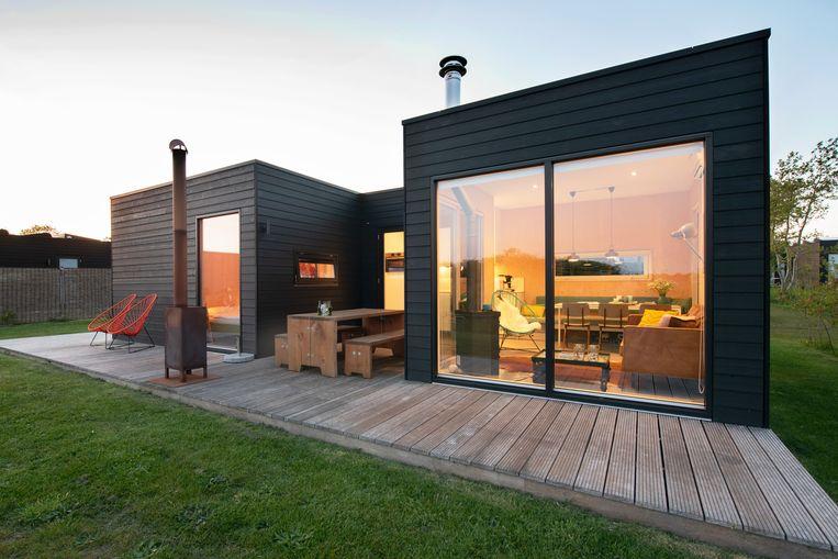 Vakantiehuis De Grote beer blinkt niet alleen uit in design, maar ook in duurzaamheid.  Beeld © Claudia Otten