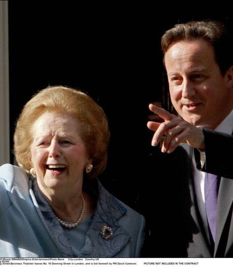 Cameron temporise au sujet de la statue de Thatcher