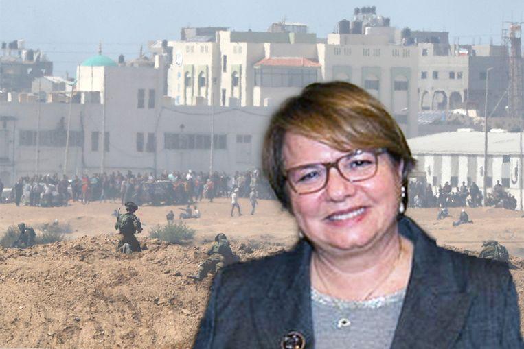 De Israëlische ambassadrice Simona Frankel. Beeld AFP
