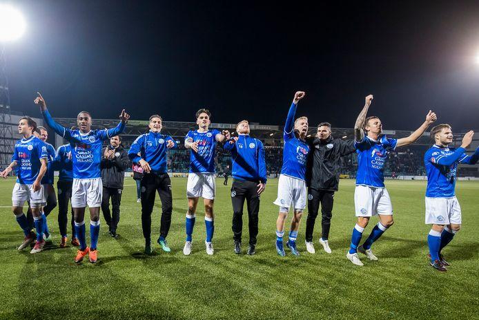 De spelers van FC Den Bosch