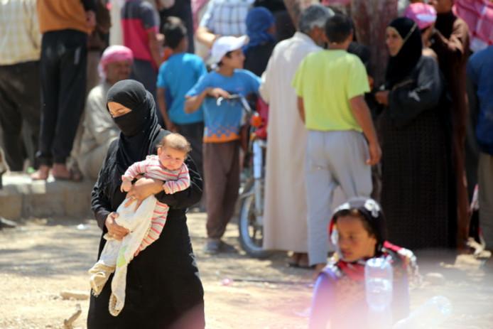 De kinderen van Raqqa zijn hun leven nooit zeker.