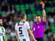 Voetbal Kort | Groningen-speler Te Wierik vrijgesproken na rode kaart