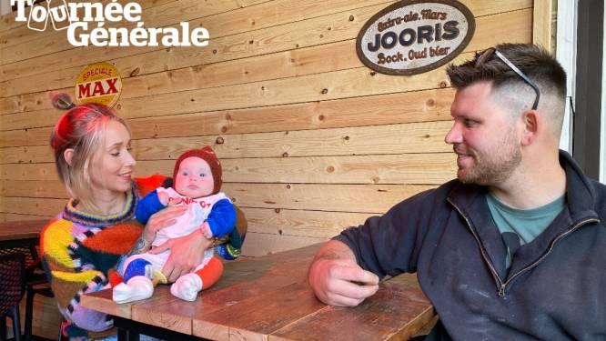 """Orfee (30) en Stephane (30) van café Wauters klaar voor heropening: """"Genoten van de rust en onze pasgeboren dochter, maar blij dat we onze stamgasten terug zullen zien"""""""
