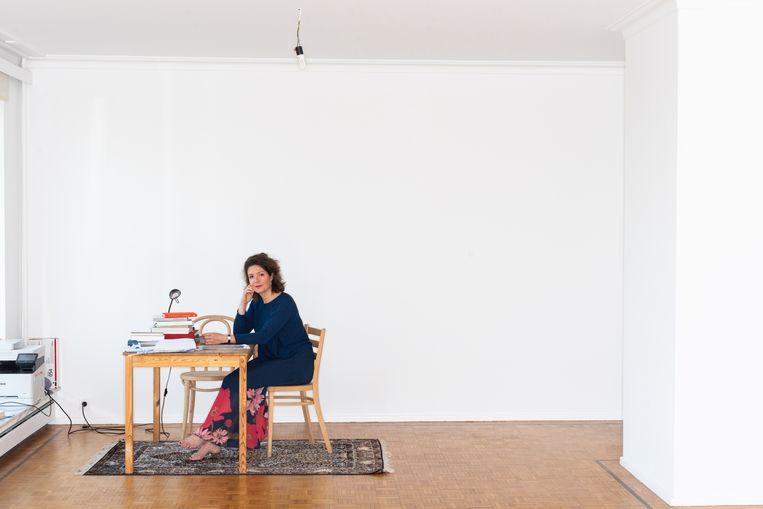 Tinneke Beeckman. Beeld Wouter Maeckelberghe