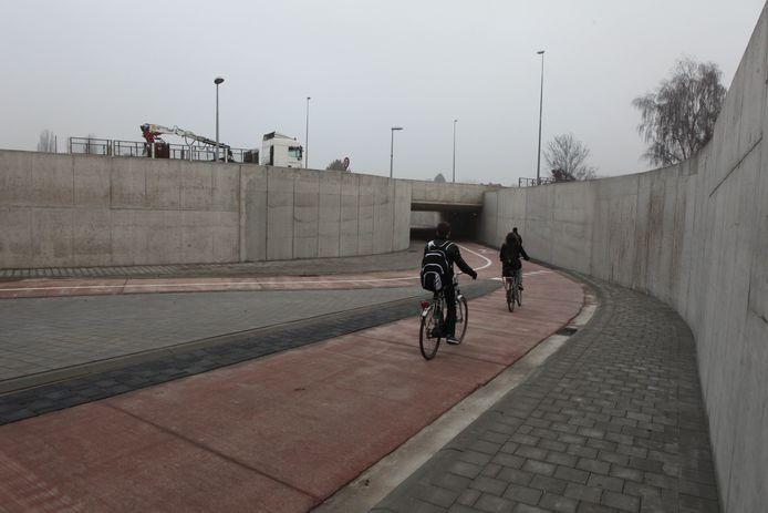 De fietstunnels aan de Zuiderring worden gepimpt met graffiti.
