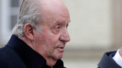 Juan Carlos denkt aan snelle terugkeer naar Spanje