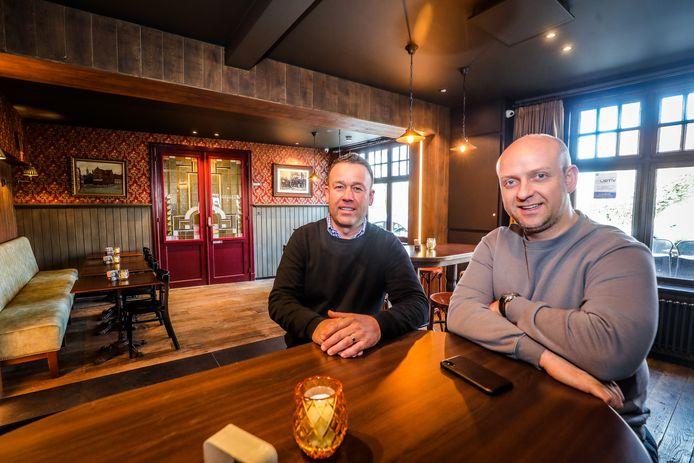 café molenhuis is verbouwd: Thierry Strypsteen en Kevin Koekelbergh
