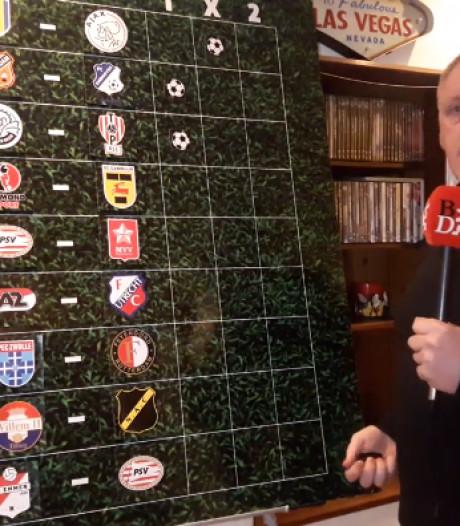 'Profeet' John Feskens voorspelt alleen FC Den Bosch en Helmond Sport goed