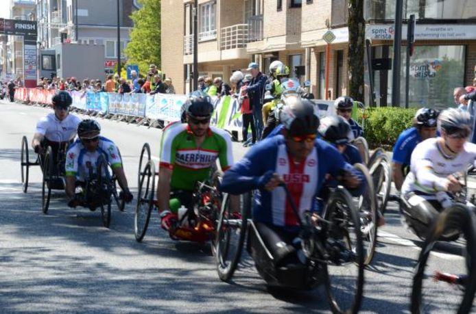 De International Paracycling Classics Ronde in Vlaanderen komt naar Ronse.
