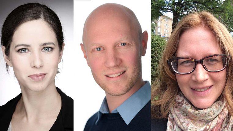 Karin Hummel, Jelte Wicherts en Karin Tanja-Dijkstra. Beeld TROUW