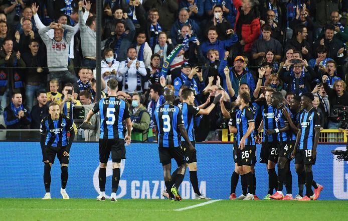 Les Brugeois ont séduit l'Europe du foot contre le PSG.