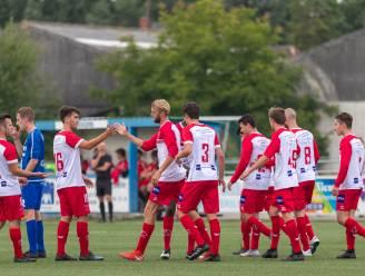 """HO Kalken bekert verder dankzij vier goals Lukas Poppe: """"Ik heb me geamuseerd in de spits"""""""