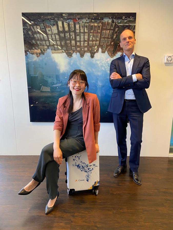 Jin Chen gaat de China Desk van Crowe Foederer  opbouwen, samen met Hugo Everaerd.