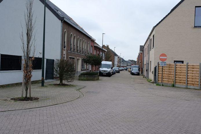 De politie legt de koffietafel stil in de Joseph D'Hondtstraat in Nossegem.