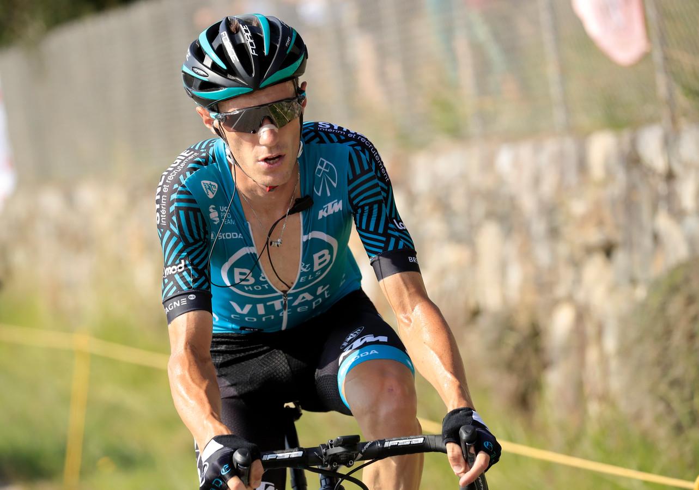 Pierre Rolland kwam op gelijke hoogte met Benoit Cosnefroy in het bollenklassement.