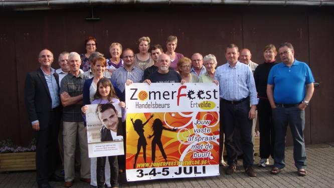 """Zomerfeest in Ertvelde van 3 tot 5 juli: """"We gaan voor plezante, maar ook voor veilige feesten"""""""